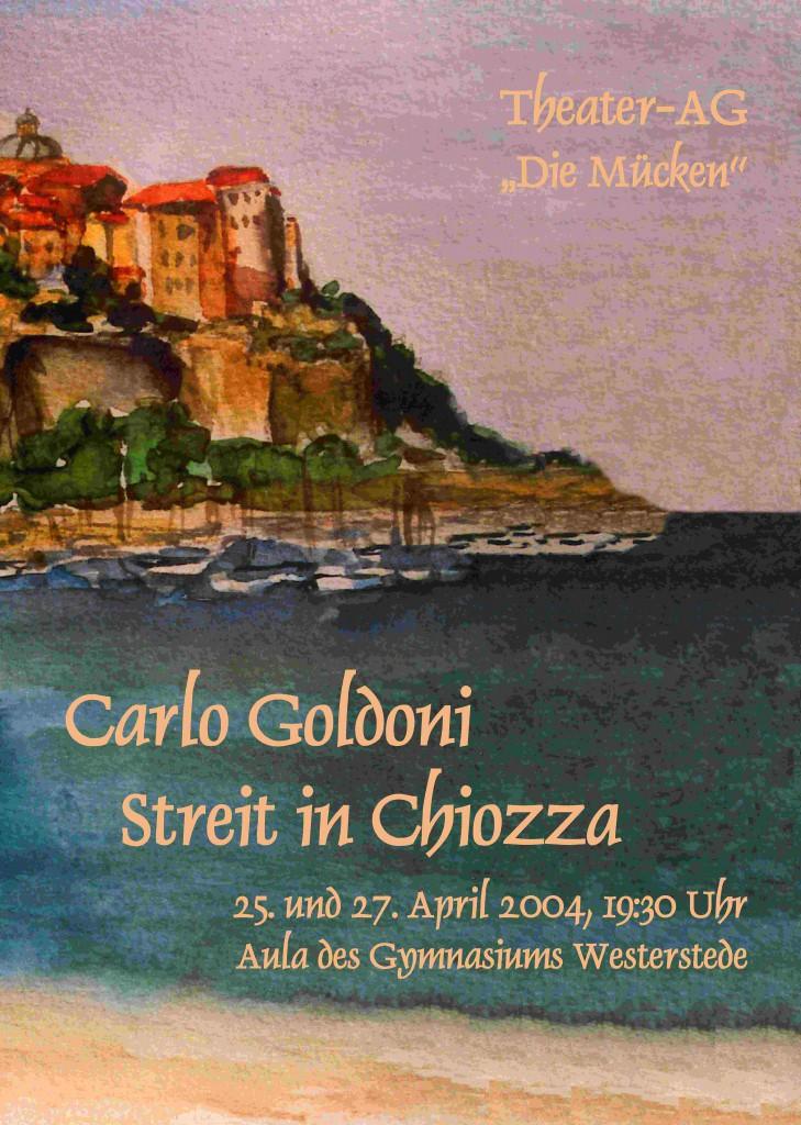Plakat - Goldoni