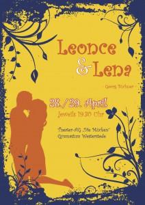 Plakat - Leonce und Lena