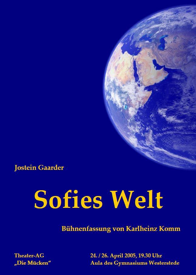 Plakat - Sofies Welt